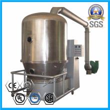 Secador de lecho fluidizado para secado de gránulos dispersables en agua