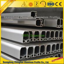 Perfis de alumínio extrudados anodizados para construção