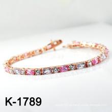 La última joyería de plata de la manera de la pulsera del estilo 925 (K-1789. JPG)