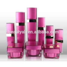 15ML 20ML 30ML 50ML 100ML 120ML 125ML Square PMMA Cosmetics Packing Lotion Bottle