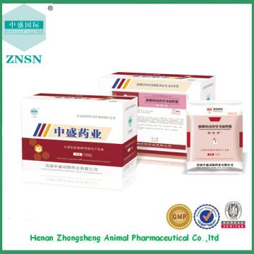 GMP certificada fabricante Ciprofloxacina Pó Solúvel para animais