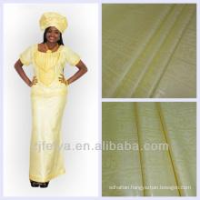 African Garment Fabric Bazin Riche Jacquard Damask Shadda Cotton Guinea Brocade High Quality Textiles