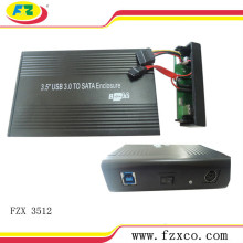 3.5 Enclosure HDD SATA USB 3.0
