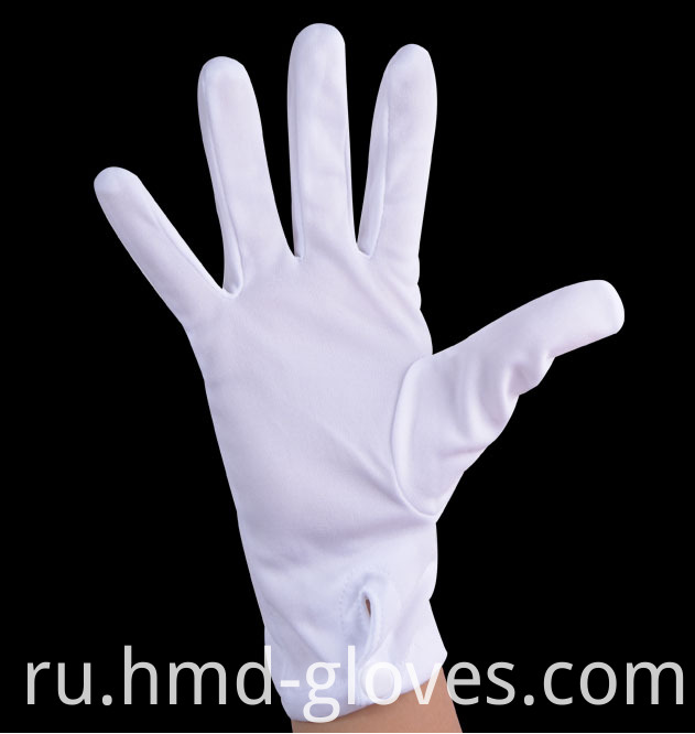 Nylon Snap Uniform Gloves 2