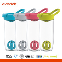 Everich 24oz / 720ml BPA Free Tritan Shaker Bottle With Flip Lid