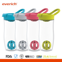 Everich 24oz / 720ml BPA Free Shaker Garrafa Com Tampa Flip