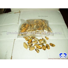 seafood frozen boiled vacuum packing mussel meat