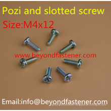 Pozi Screw Slot Bolts Fastener