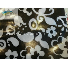 Polyester Printed Oxford Fabric Coated PVC For Cosmetic Bag