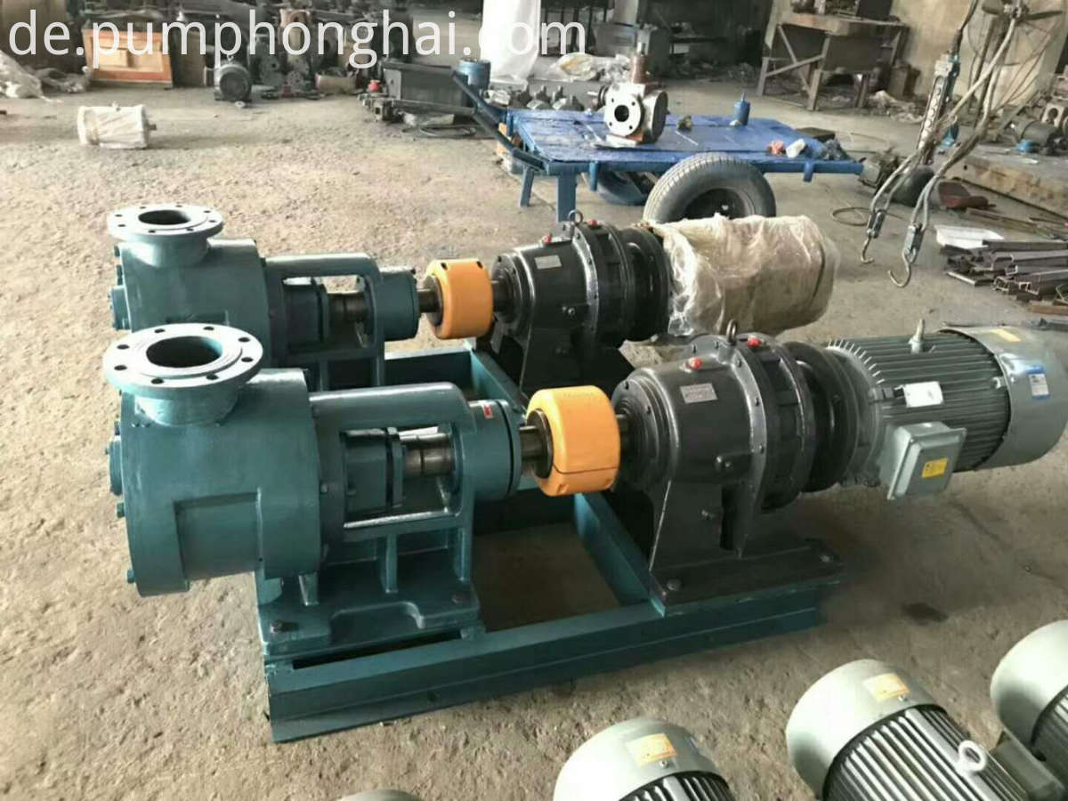 high viscosity bitumen pump