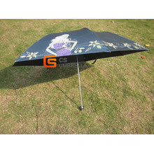 20.5*6k Three Fold Super Mini Umbrella (YSM0008)