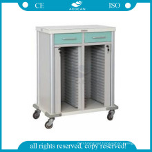 AG-CHT011 Patient room files holder hospital medical records trolley
