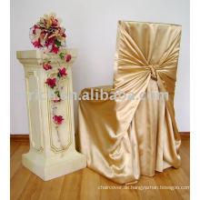 Satin Tasche/Universal Stuhlabdeckung, satin, binden Stuhlabdeckung, Hotel/Bankett Stuhl cover