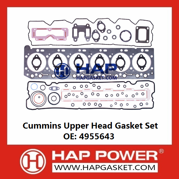CUMMINS Upper Head Gasket Set 4955643