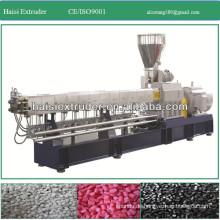 PP/PE/PVC Doppelschneckenextruder Kunststoff-Pellets, der Maschine herstellt