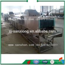 China tipo de cesta Blanching máquina de esterilização