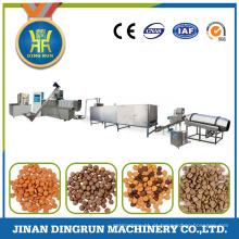 linha de produção completa de grande capacidade comida de cão que faz a máquina