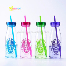 350ML Plastic BPA Free Water Bottle Portable Soda Bottle Colorful Bottle