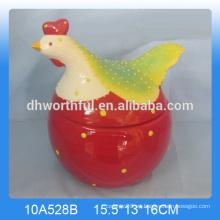 Preciosa jarra de cerámica de galletas de Pascua al por mayor