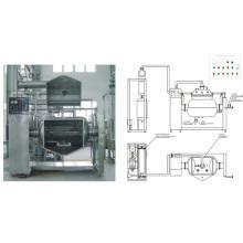 Vacuum Horizontal Mixer and Blender