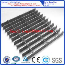 Rejilla de piso de barra de acero galvanizado