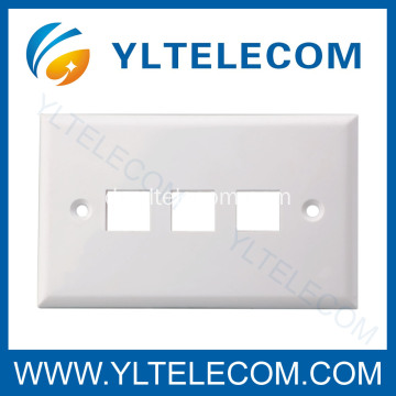 Wand-Face Plate RJ45 3 Port 3 Port 70 * 115MM