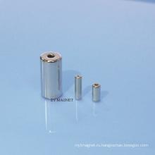 Спеченный магнит NdFeB для двигателя с самомоделированием с покрытием Ni + Sn