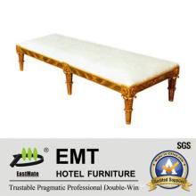 High Quality Wooden Frame Bed End Stool (EMT-BS03)
