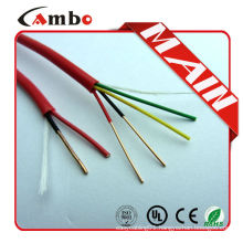 Shenzhen factory 1000ft Red Solid Copper FPL FPLR aluminum foil shield fire alarm cable