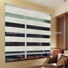 Moderno jacquard design zebra cego cortina arco-íris cego