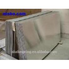 Chapa de aluminio placa oxidiable del refrigerador de la placa / de la placa