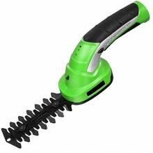 Aparador de grama sem fio de 3,6 V e aparador de sebes com luz indicadora de bateria LED Ferramentas elétricas para jardim