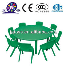 Cheap plastic round table for children