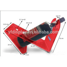 Tabletop Red Acryl Wein Display