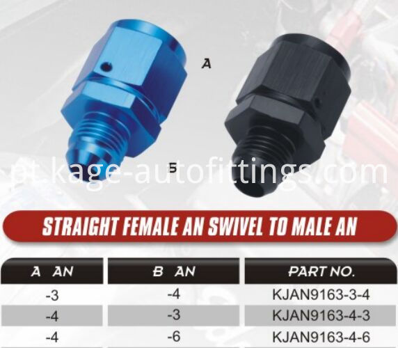 Male To Female Swivel Reducer