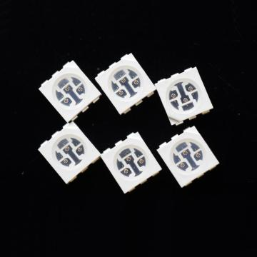 660nm LED 5050 Röd SMD LED Epistar Chip