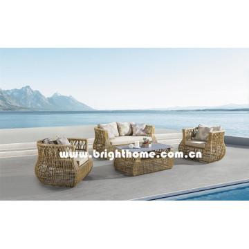 Nuevo diseño de alta calidad de mimbre Muebles al aire libre Bp-8026