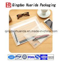 Hohe Standal Plastic Bag mit Reißverschluss
