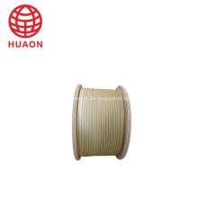 Einzelner mit Glasfaser-Glimmerband beschichteter flacher Kupferdraht