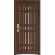 Стали деревянные бронированные двери (ЖЛ-G9003)