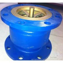 China fez baixo preço dupla flange conexão ductile ferro silenciamento válvula de retenção DN200