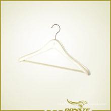 Light White Wooden Clothes Hanger