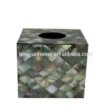 Черная коробка ткани MOP коробки акриловой ткани