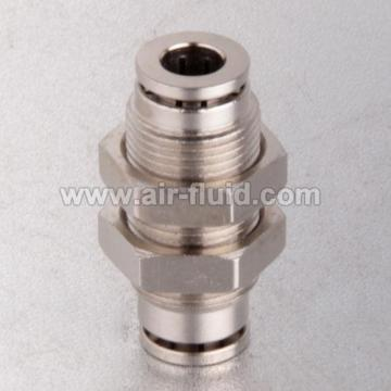 """3/8 """"Bulkhead-Union-Tube-Size-Brass Push-to Connect Fittings"""