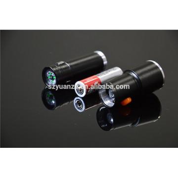 Produtos mais vendidos tocha à prova d'água, tático lanterna LED, levou lanterna recarregável