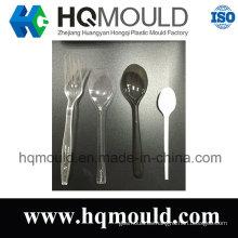 Personaliza diferentes tipos de molde de cuchara y tenedor de plástico