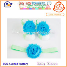 Dernières chaussures promotionnelles sandales pieds fleur