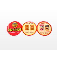 Maßgeschneidertes hochwertiges Etikett für die Lebensmittelindustrie