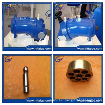 Fixed Displacement Hydraulic Motor Bearable for Radial Pressure