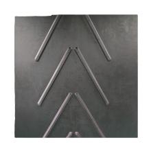 Heat resistant EP canvas chevron rubber conveyor belt